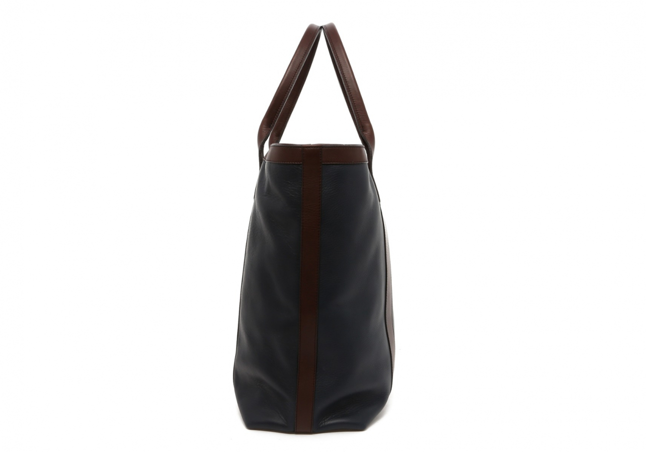 Navy Tall Tote D