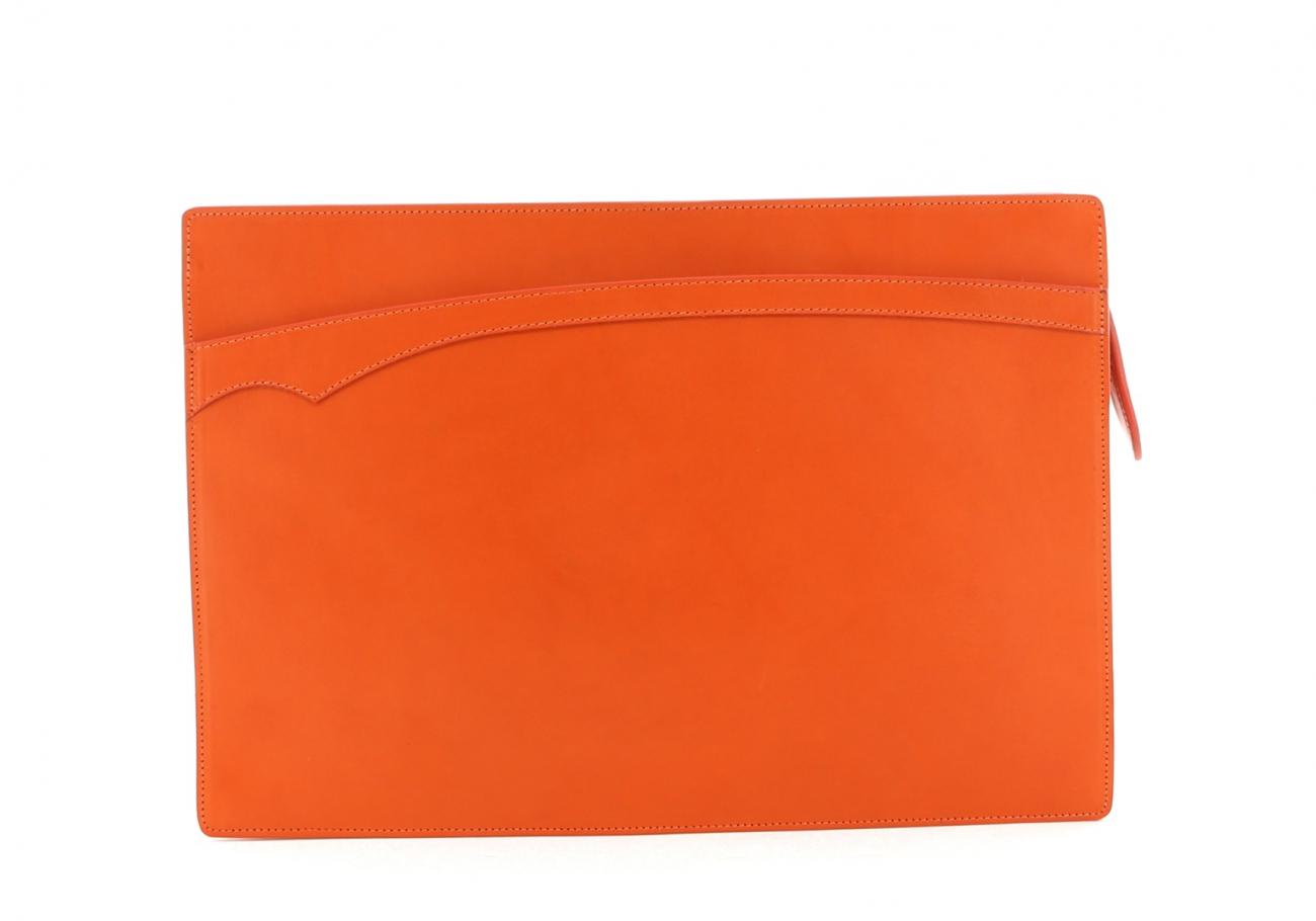 Orange Zipper Portfolio B