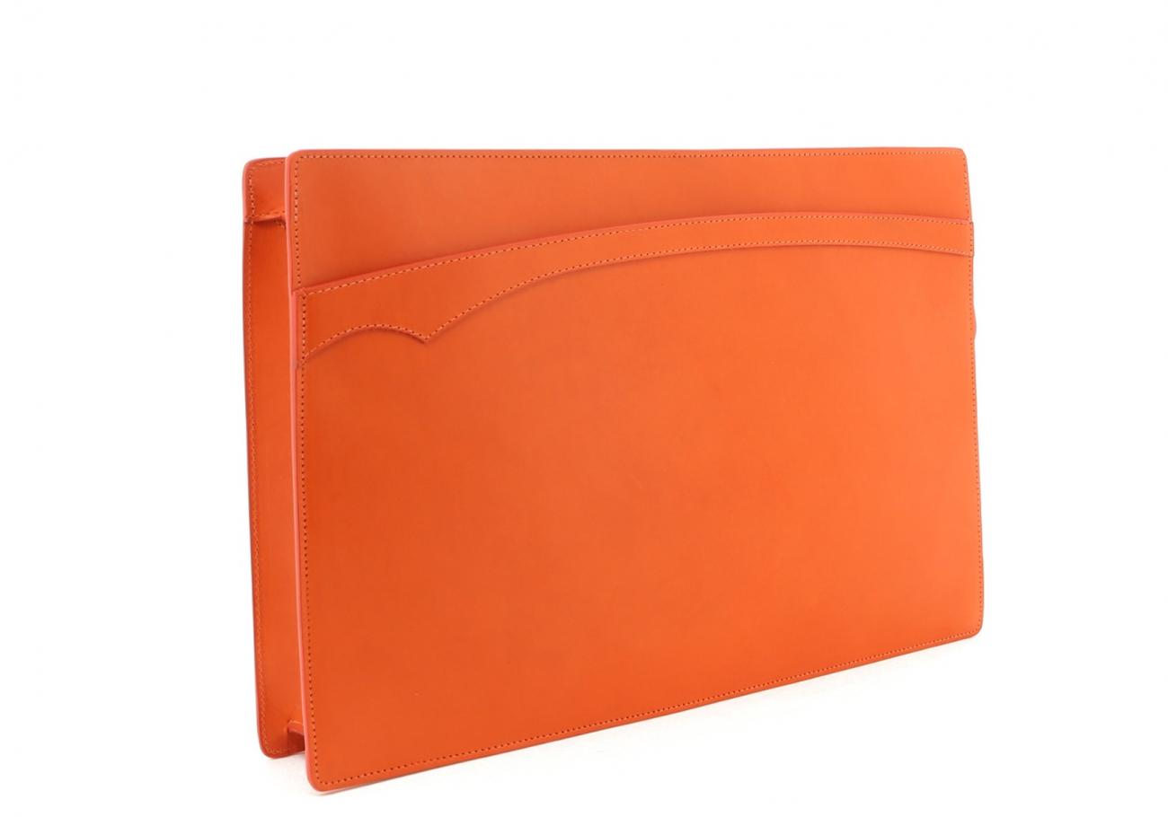 Orange Zipper Portfolio C