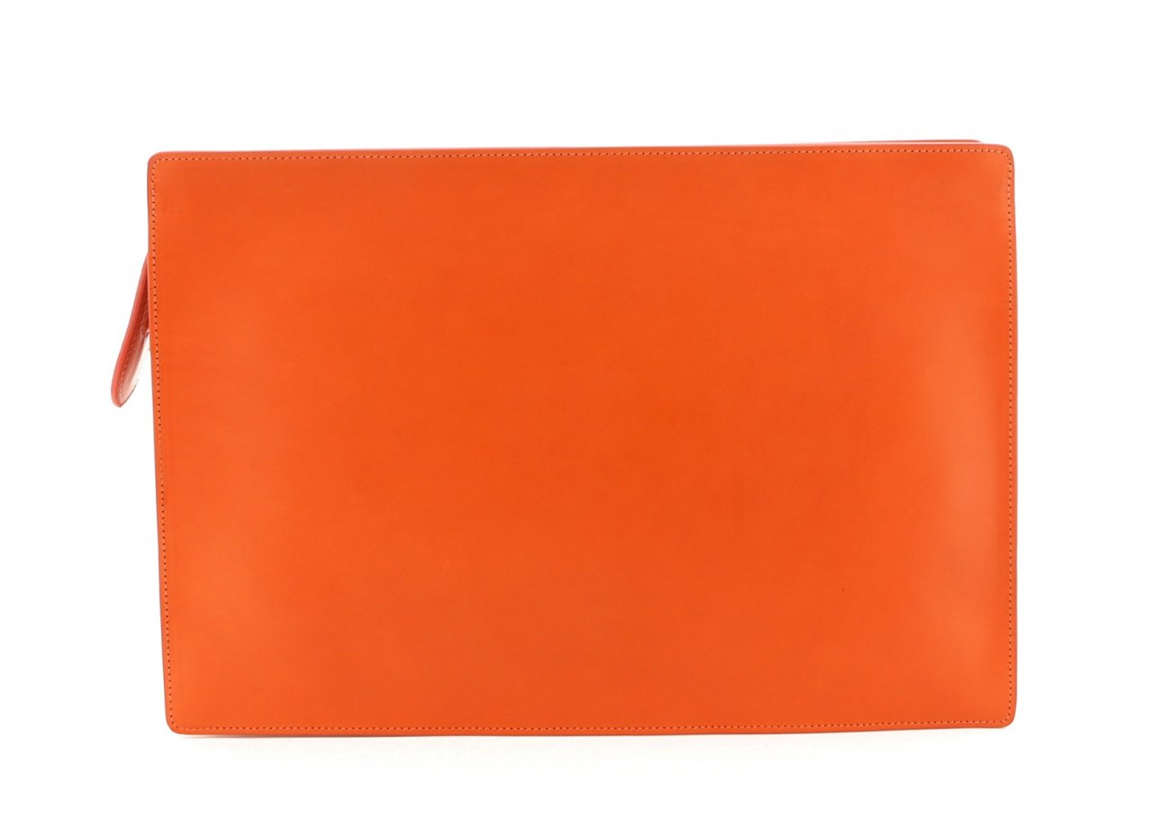 Orange Zipper Portfolio E