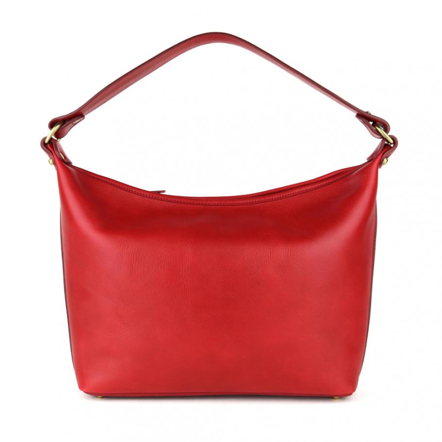 Red Daisy Shoulder Bag Frank Clegg Main 1