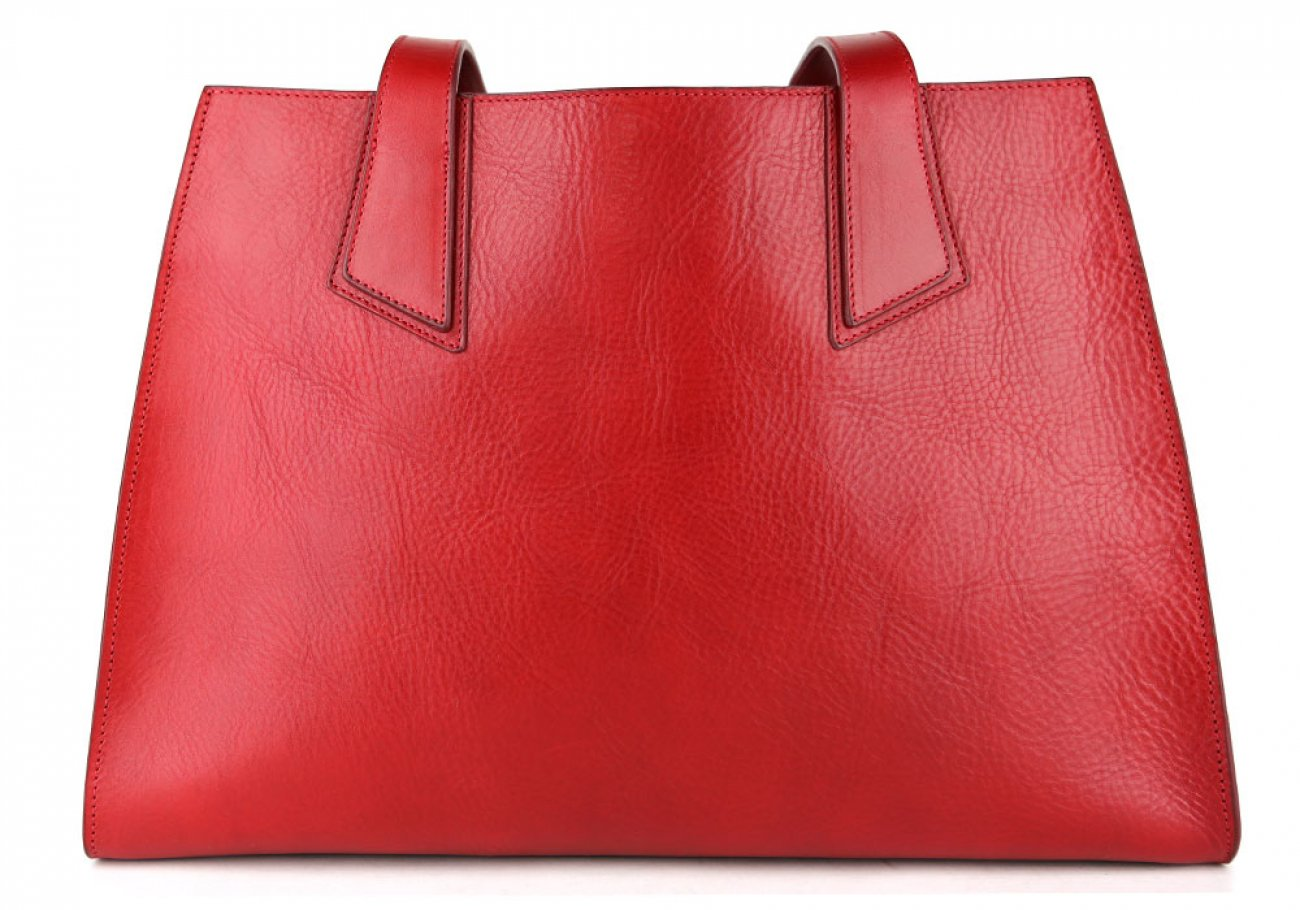 Red Elle Tote Bag Frank Clegg Made In Usa 1 1