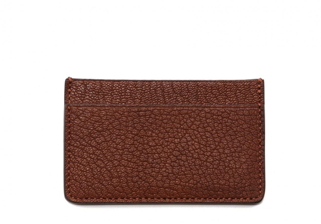 Single Card Wallet Antique Goatskin1