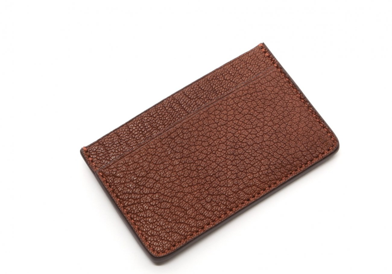 Single Card Wallet Antique Goatskin2
