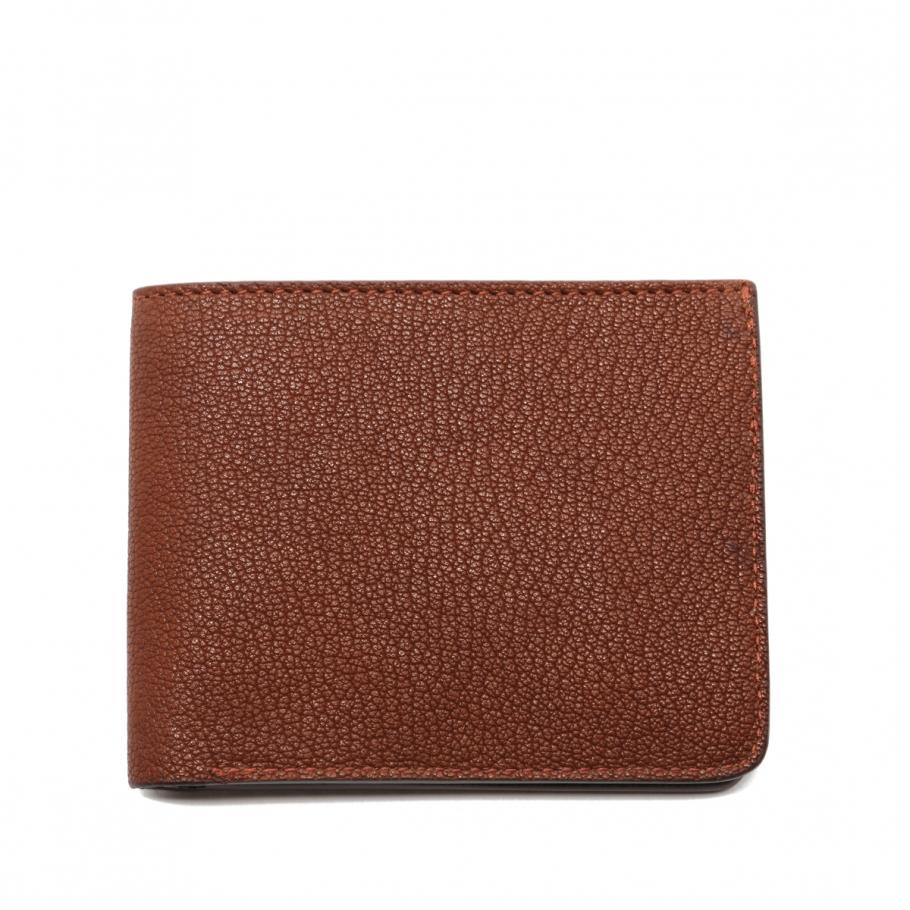 Six Card Bifold Wallet Antique Goatskin Frank Clegg 1 2