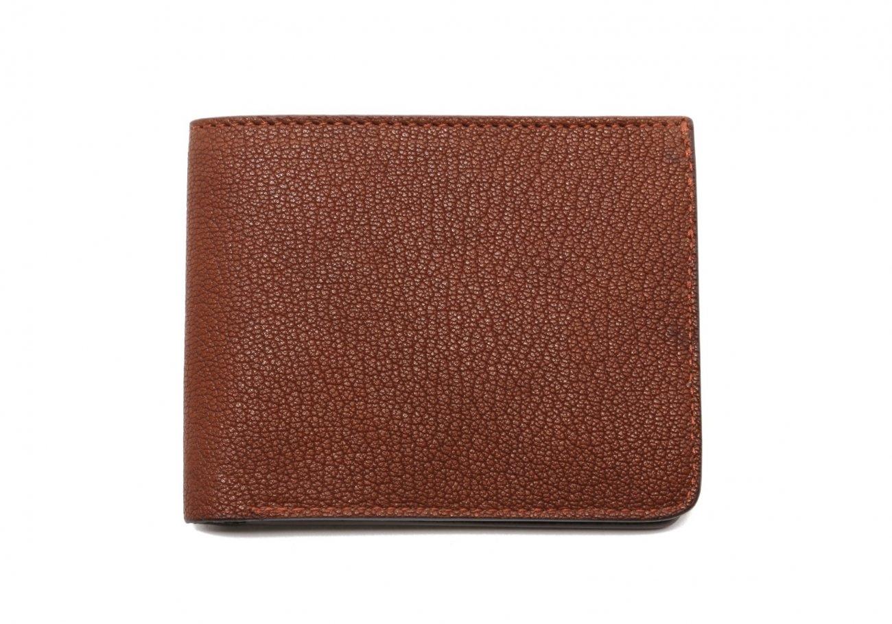 Six Card Bifold Wallet Antique Goatskin1 1
