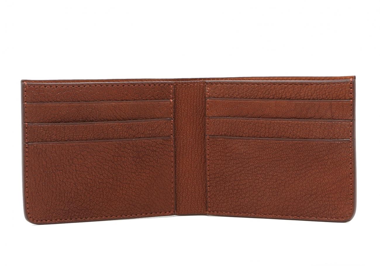 Six Card Bifold Wallet Antique Goatskin3 1