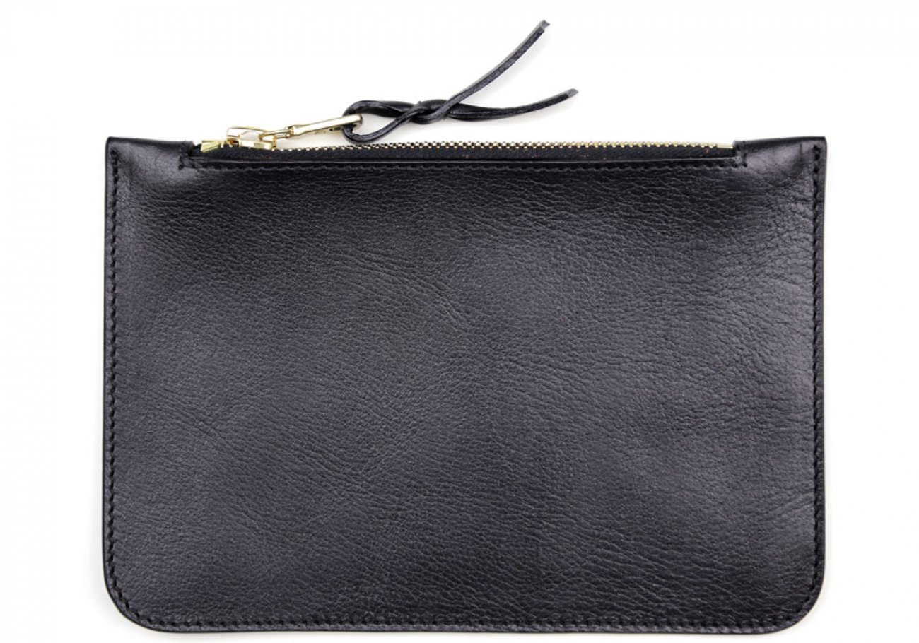 Small Black Zipper Pouch Made In Usa Frank Clegg 1