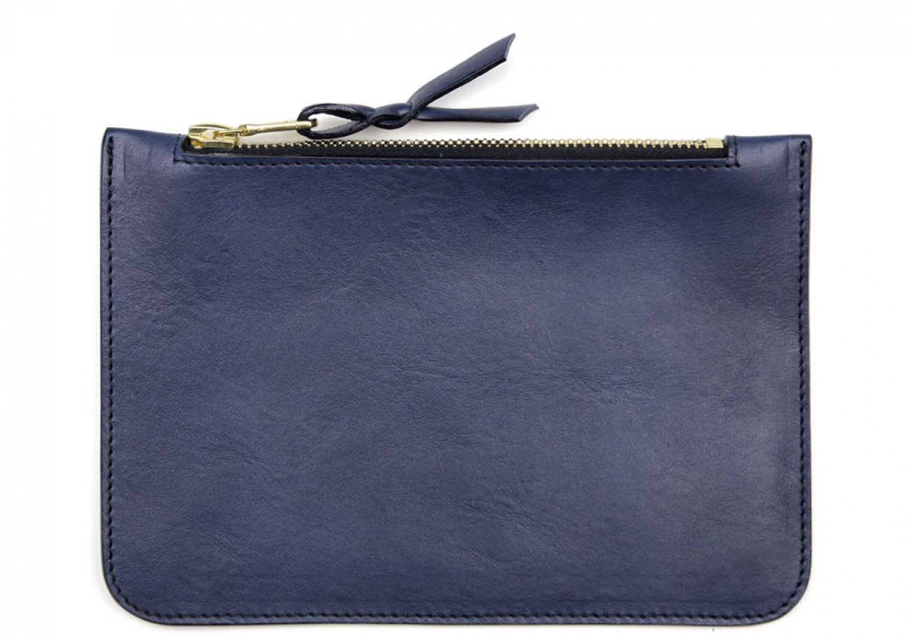 Small Navy Zipper Pouch Made In Usa Frank Clegg 1