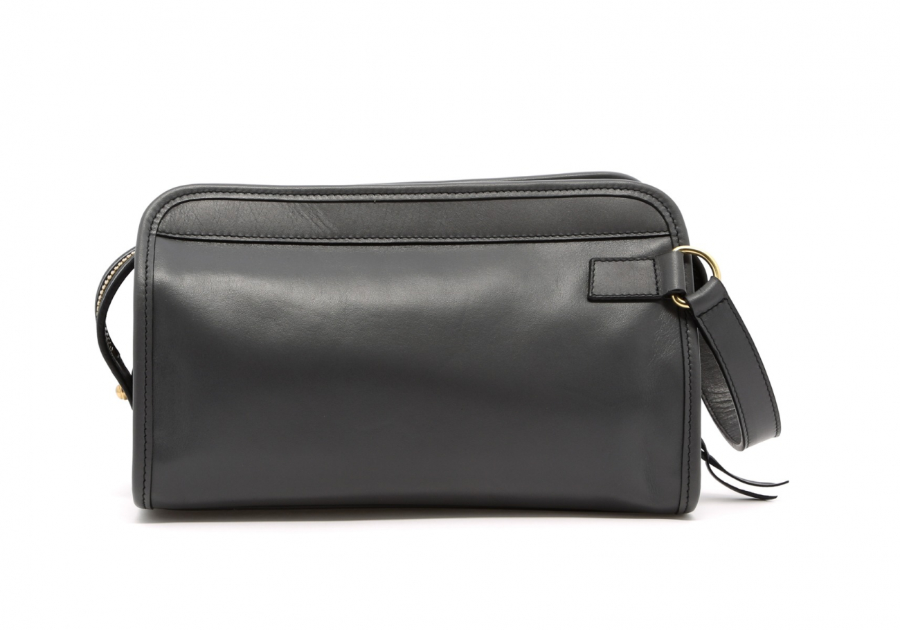 Small Travel Kit Grey Leather2