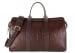 Alligator Duffle Bag Frank Clegg Signature Travel Duffle Chocolate 1