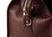 Bison Leather Duffle Bag Chocolate 12