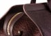 Bison Leather Duffle Bag Chocolate 4