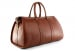 Brown Leather Duffle Bag Hampton Frank Clegg 4