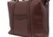 Brown Leather Zipper Tote Bag Shrunken9 1