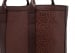 Brown Tall Leather Tote Bag Shrunken6 1