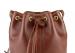 Chestnut Cara Draw String Bag Frank Clegg Made In Usa 6