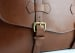 Chestnut Harness Belting Leather Lawyers Briefcase Frank Clegg Made In Usa 8 Raw