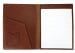 Chestnut Harness Belting Leather Note Pad Frank Clegg Made In Usa 3