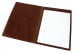Chestnut Harness Belting Leather Note Pad Frank Clegg Made In Usa 5