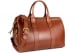 Chestnut Harness Belting Leather Small Duffle Frank Clegg Made In Usa 2 3