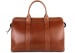 Chestnut Harness Belting Leather Small Duffle Frank Clegg Made In Usa 3 3
