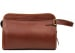 Chestnut Large Tumbled Leather Travel Kit Frank Clegg Made In Usa 12 1