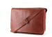 Chestnut Leather  Bound Edge Messenger Bag Frank Clegg Made In Usa 3