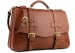 Chestnut Leather Small Lawyers Briefcase Frank Clegg Made In Usa 3