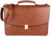 Chestnut Leather Wall Street Briefcase Frank Clegg Made In Usa 2