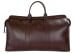 Chocolate Compass Leather Duffle Bag Frank Clegg Made In Usa 1 1