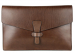Chocolate Harness Belting 17  Leather Portfolio Case Frank Clegg Made In Usa 1 1