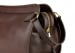 Chocolate Large Tumbled Leather Travel Kit Frank Clegg Made In Usa 5