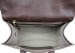 Chocolate Lock Satchel Frank Clegg Made In Usa 6 1