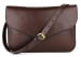 Chocolate Maddie Shoulder Bag Frank Clegg Made In Usa 1