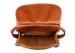 Cognac Abby Shoulder Bag Frank Clegg Made In Usa 7