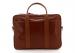 Cognac Calf Leather Commuter Brief B