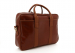 Cognac Calf Leather Commuter Brief C