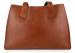 Cognac Elle Tote Bag Frank Clegg Made In Usa 1
