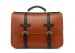 Cognac English Briefcase B