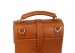Cognac Harness Belting Leather Buckle Satchel Frank Clegg Made In Usa 8
