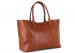 Cognac Large Working Tote Made In Usa Frank Clegg 2