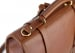 Cognac Leather Buckle Backpack Frank Clegg Made In Usa 4