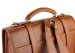 Cognac Leather Buckle Backpack Frank Clegg Made In Usa 5