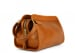 Cognac Small Tumbled Leather Travel Kit Frank Clegg Made In Usa 4 1