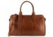 Cognac Veg Leather Signature Satchel Frank Clegg Made In Usa 1