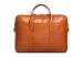 Commuter Briefcase Leather Cognac5
