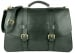 Green Harness Belting Leather Lawyers Briefcase Frank Clegg Made In Usa 1