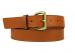 Leather Belt Handmade In Usa Frank Clegg Cognac 10
