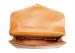 Leather Lock Briefcase Tan Leather 5